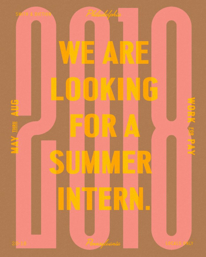✐ Seeking Summer Intern ✐