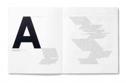 Quartet « Studio8 Design #spread #print #magazine