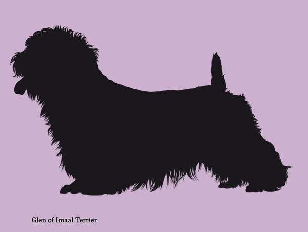 Dog silhouettes (set 7) #fellerer #together #illustration #forever #marge #friends
