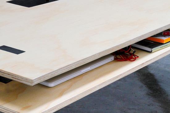 Work Table 02 Series Miguel de la Garza #furniture #design #desk #table