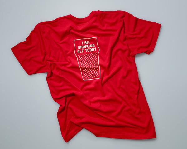 Loveland Aleworks — Manual #clothing #red #apparel #print #tshirt #shirt #screen