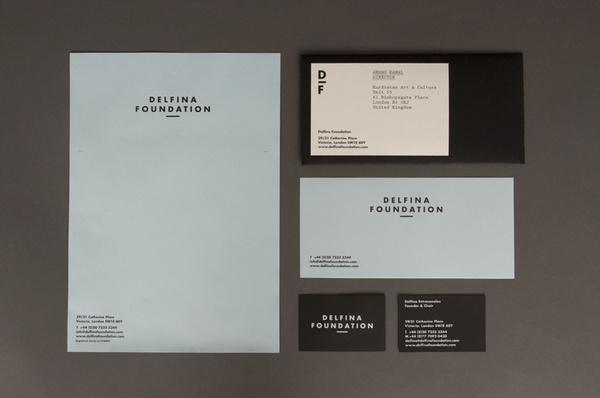 Spin — Delfina Foundation #print #identity #stationery