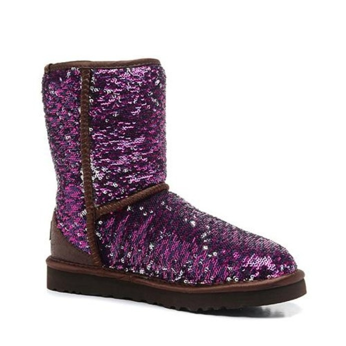 Ugg Women Classic Short Sparkles 1002978 Purple #classic #women #ugg #sparkles #short