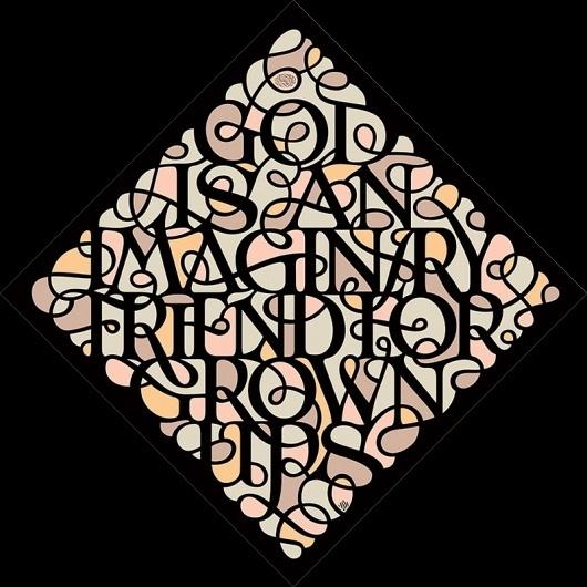 NIELS SHOE MEULMAN — LetterCult #illustration #religion #typography