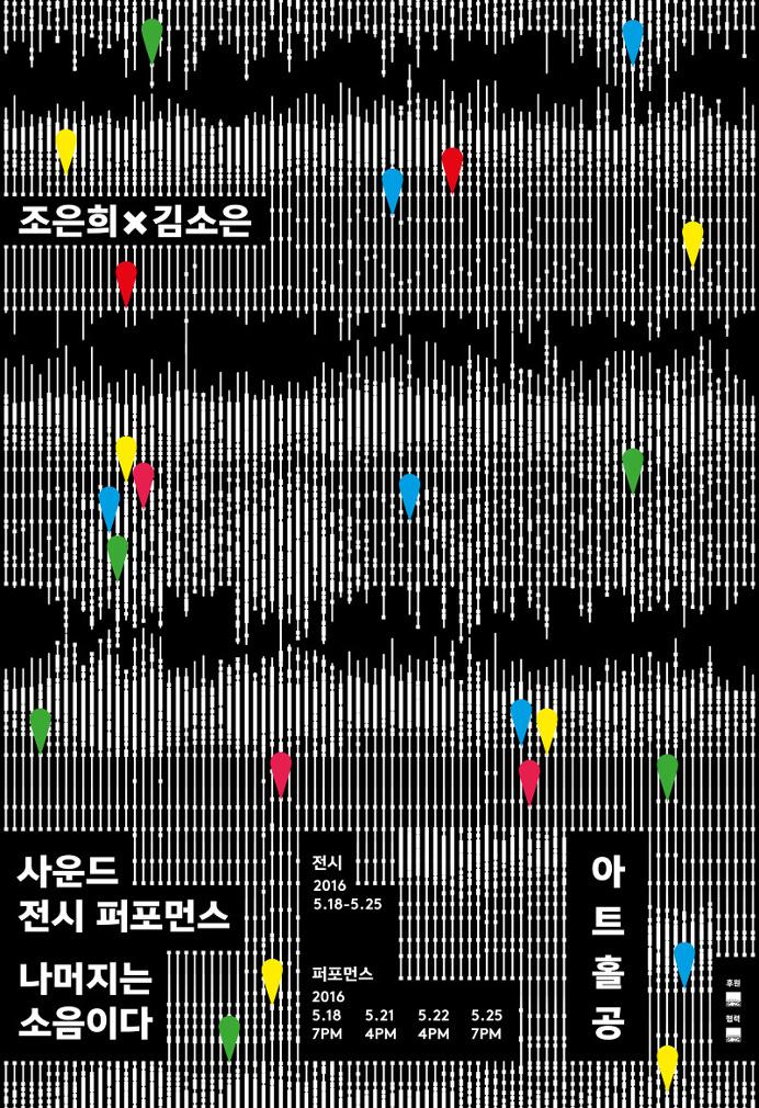 korea, poster, glitch