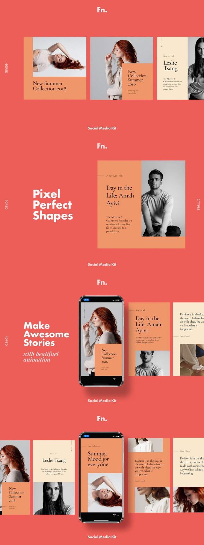 FN – Social Media Kit for Instagram