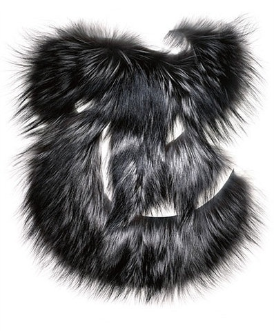 FFFFOUND! | Type Theory #type #furry #fur #typography
