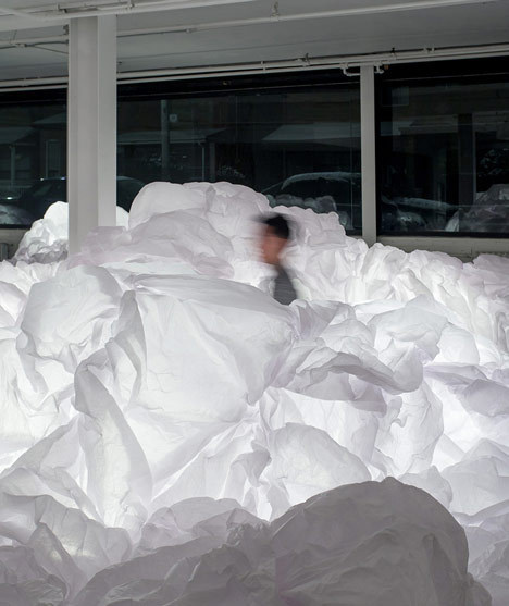Cloud Installation by Mason Studio #cloud #installation