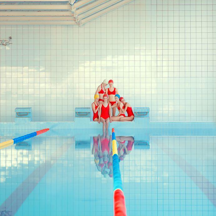 Girl Pool on Behance
