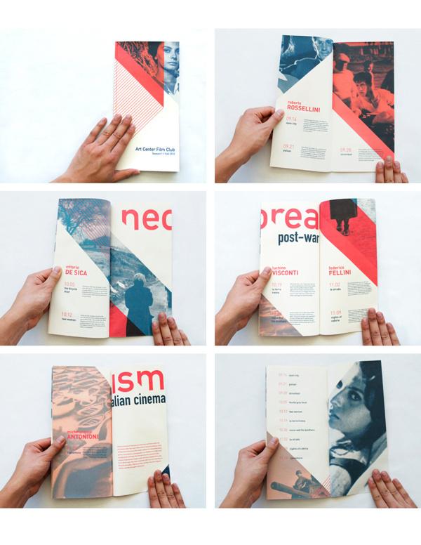 Italian Neorealism Cinema Series #brochure