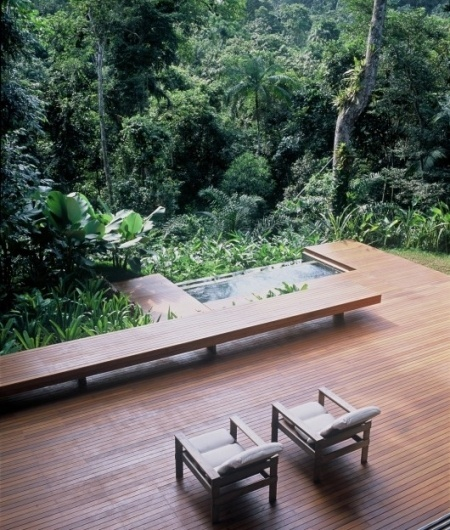 WANKEN - The Blog of Shelby White » House in Iporanga Sao Paulo #interior #house #design #brazilian #architecture #garden