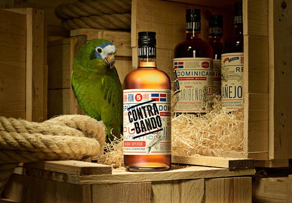 Dominican Republic rum packaging Grupo Caballero #packaging #design #caribbean