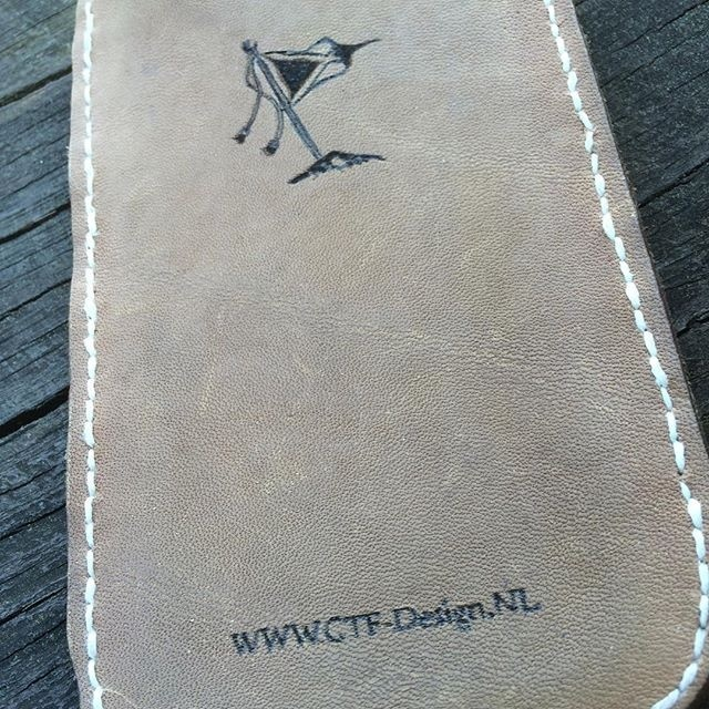 A #waste #piece of #leather and a #friend who was in need of a #telephone #case. It brought me to this #marketing #product