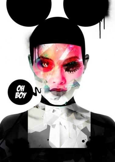 Designerd at Work #woman #design #illustration #photography #poster