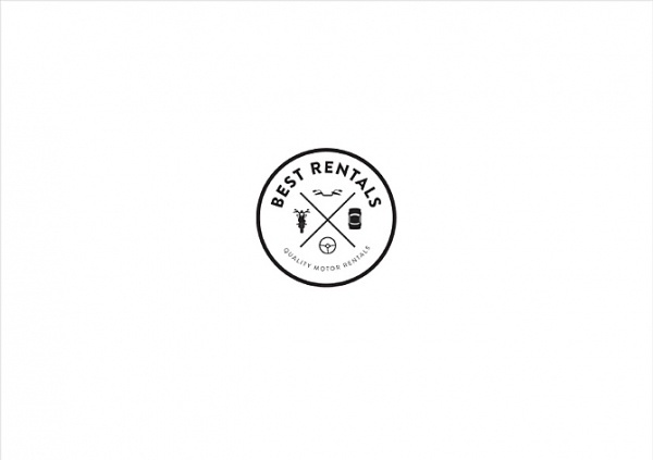 Sorbet #rentals #white #branding #icons #black #cars #and #logo