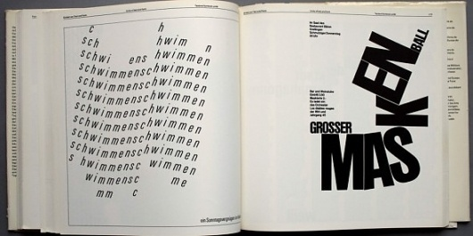 Typography (Emil Ruder, 1967) – designers books #type #layout #book
