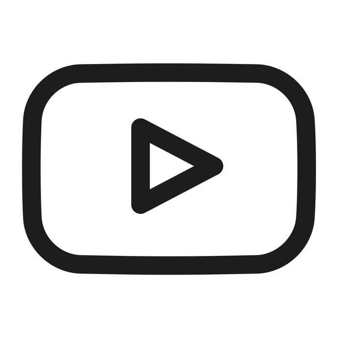 See more icon inspiration related to youtube, streaming, social media, video player, social network, logos, logotype and logo on Flaticon.