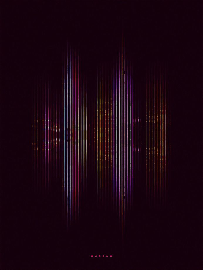 Skylines: Digital Artworks by Retoka – Inspiration Grid   Design Inspiration