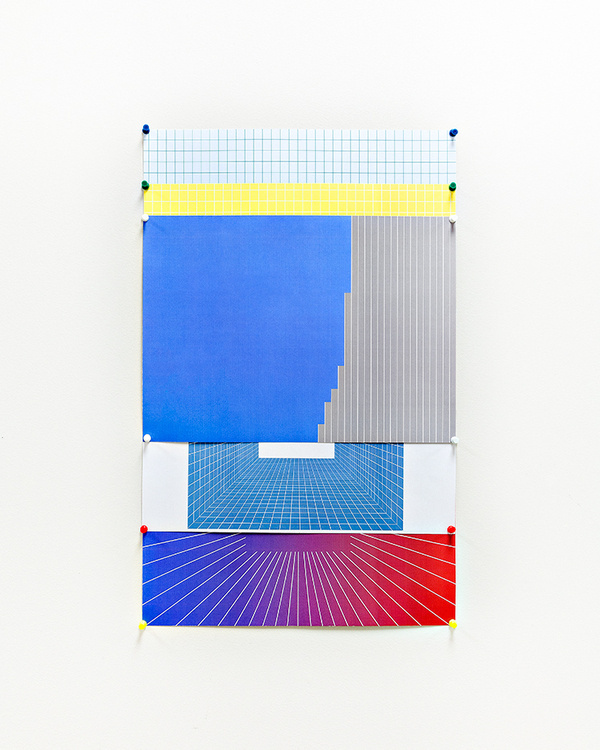 Alternate from Grid, 2012, Image #installation #grid #pin #poster #art