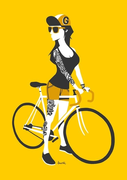Girls on Wheels on Behance #character