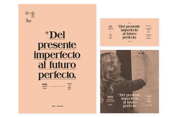 Tata&Friends: Mr. Marcel School Rebrand / on Design Work Life #identity #layout
