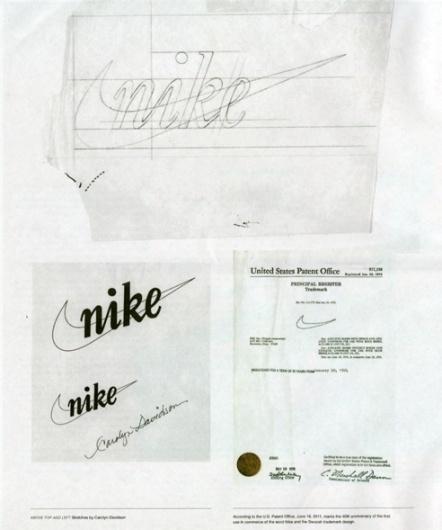 Nike Logo Patent Application #patent #logo #nike #technical