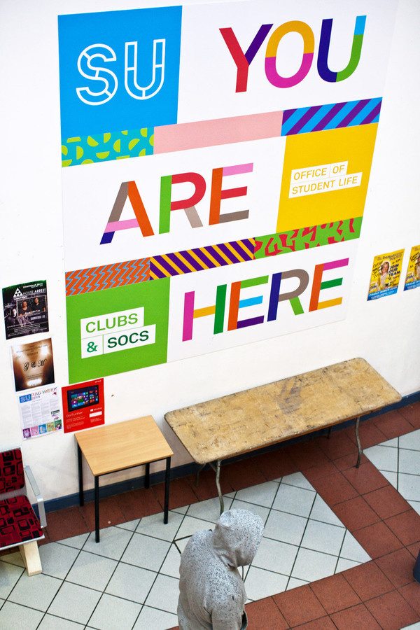 DCU Students' Union | Aad #design #graphic #branding