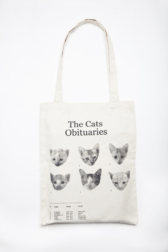 Pinned Image #bag #kitten #obituary #cat