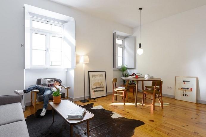 Ajuda Apartment, Lisbon / Arriba Studio