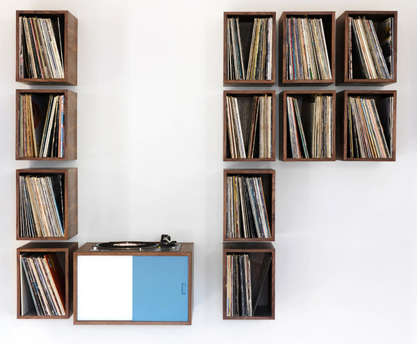 "CJWHO ™ (turn table and vinyl record storage ""LP storage""...) #storage #design #interiors #record #furniture #photography #vinyl #turn #table"