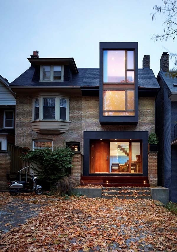 Renovation of a semi-detached home in Toronto #inspiration #architecture #house #modern