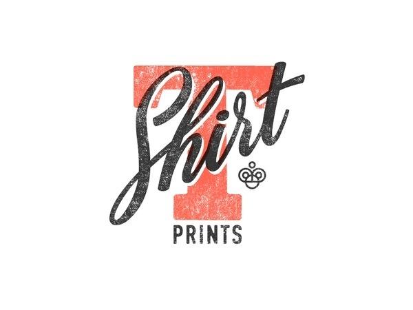 T-shits print #lettering