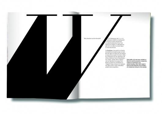 JOURNAL: of Carl M. Wellman / bonhomme.se #magazine #typography