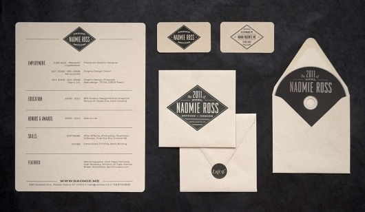 Naomie Ross // Design x Motion // New York #identity