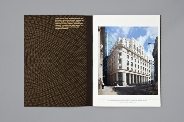 No.1 Bartholomew Lane. Security printing – dn&co. #stamp #spread #foil #layout #editorial #magazine