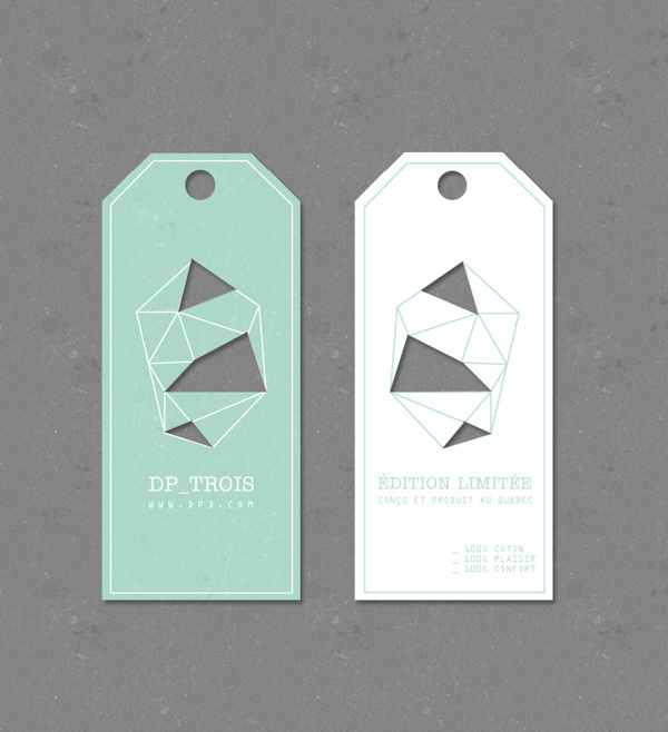 DP3 Tags on Behance #cut out