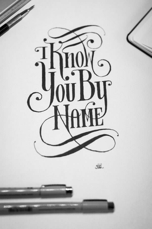 http://hand-lettered-logos.tumblr.com #calligraphy #lettered #lettering #script #logos #scripture #drawn #hand #typography