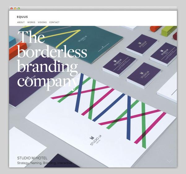 EQUUS #website #layout #design #web
