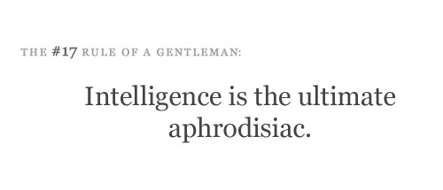 Etiquette for a Gentleman #gentleman #clever #copywriting #quotes