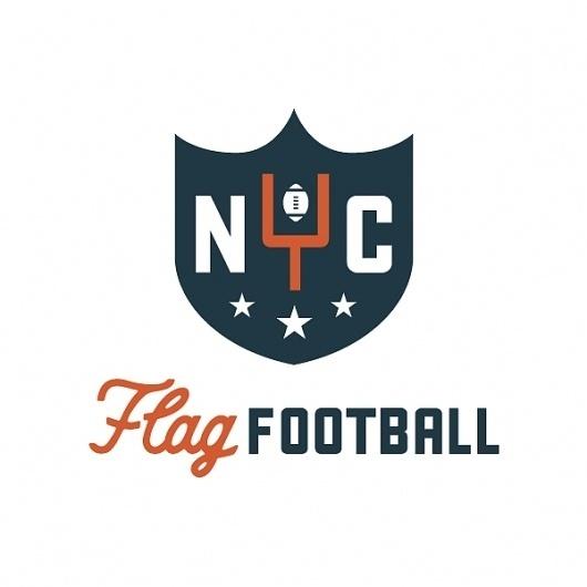 All sizes | NYC_football | Flickr - Photo Sharing! #america #branding #retro #logo #football