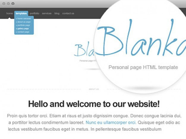 Blanka website template Free Psd. See more inspiration related to Template, Web, Website, Psd, Website template, Webdesign and Horizontal on Freepik.