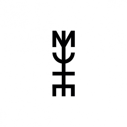 MUTE Identity on the Behance Network #eight #identity #seven #logo #v7p8