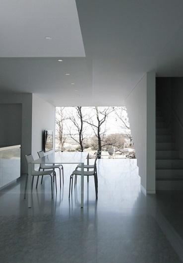 Skim Milk: House in Ise by Takashi Yamaguchi | Design Milk #interior #minimalist #architecture #japan