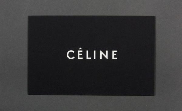 Womenswear collections S/S 2011: show invitations | Fashion | Wallpaper* Magazine: design, interiors, architecture, fashion, art #logo #celine