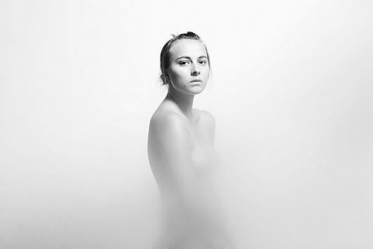 Art Sponge I Inspirational Visual Art #brittany #white #blur #black #monochrome #chavez #photography #portrait #and
