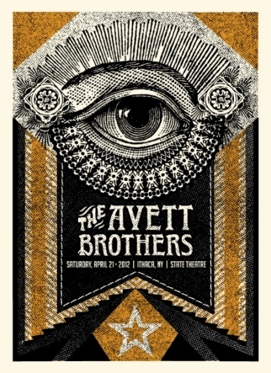 GigPosters.com - Avett Brothers, The #poster