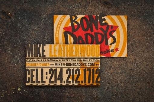 design work life » Matchbox: Bone Daddy's Restaurant Design #illustration #identity