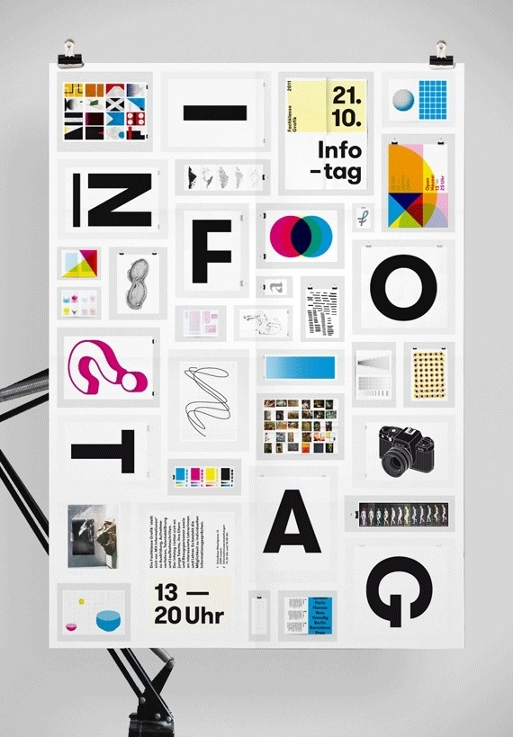 Infotag 2011 #type #design #graphic