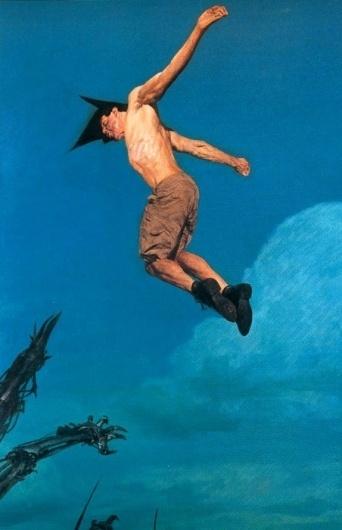 hale_no2.jpg (452×700) #fantasy #phil #hale #illustration #painting #dark