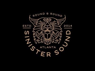 Sinister Sound Records #logo #identity